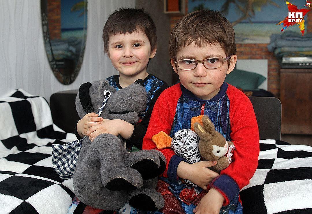 В августе 2017 года Антону и Адаму исполнится 4 года. Фото: Мария РОЛЬСКИТЕ