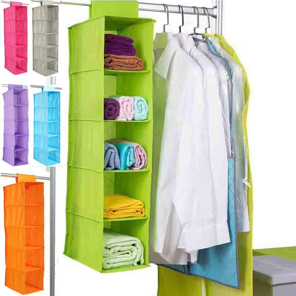 5 Layer Hanging Clothes Organizer