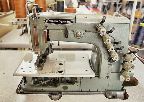 Features of Kansai Special Industrial Sewing Machine