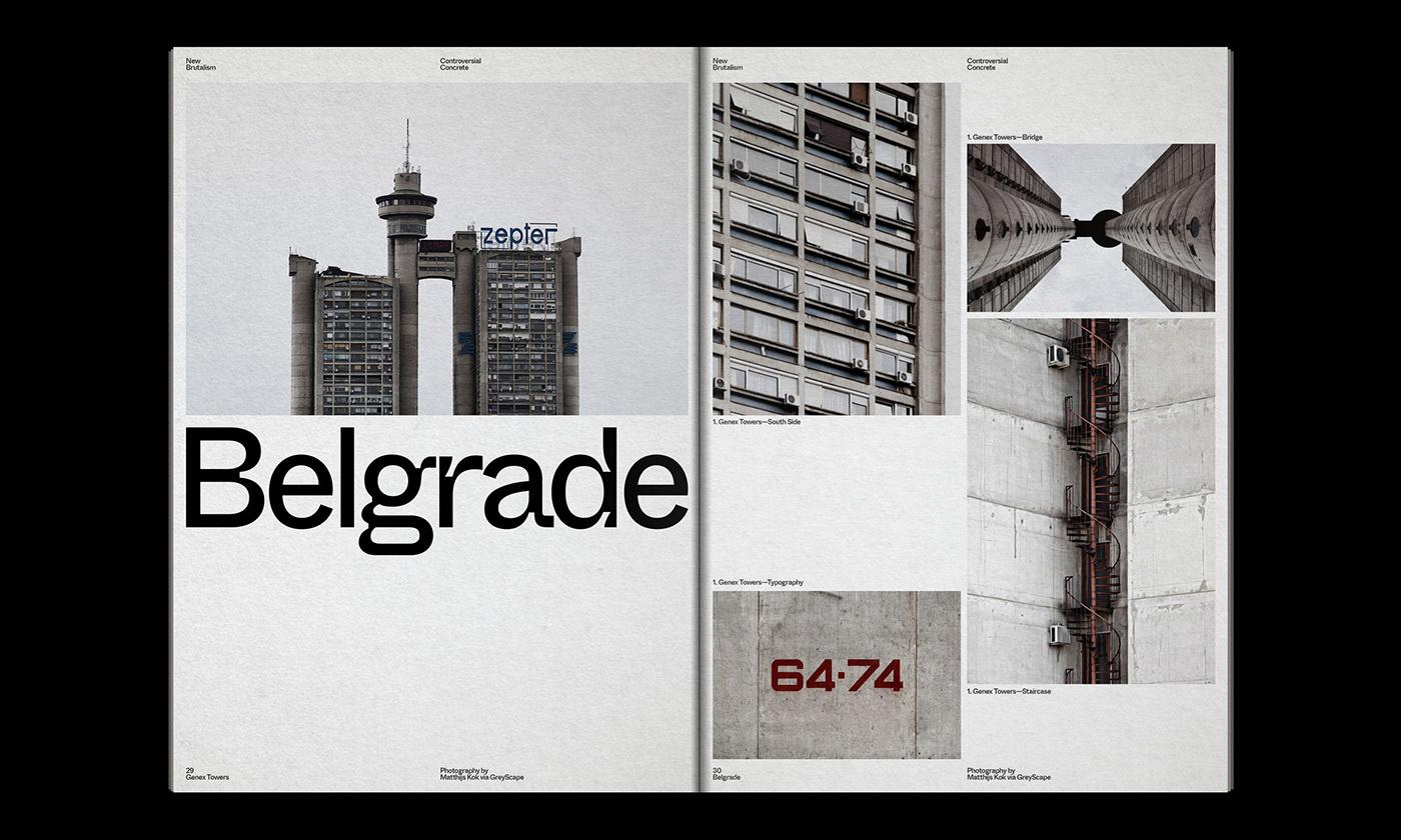 Editorial Design : New Brutalism Controversial Concrete 20