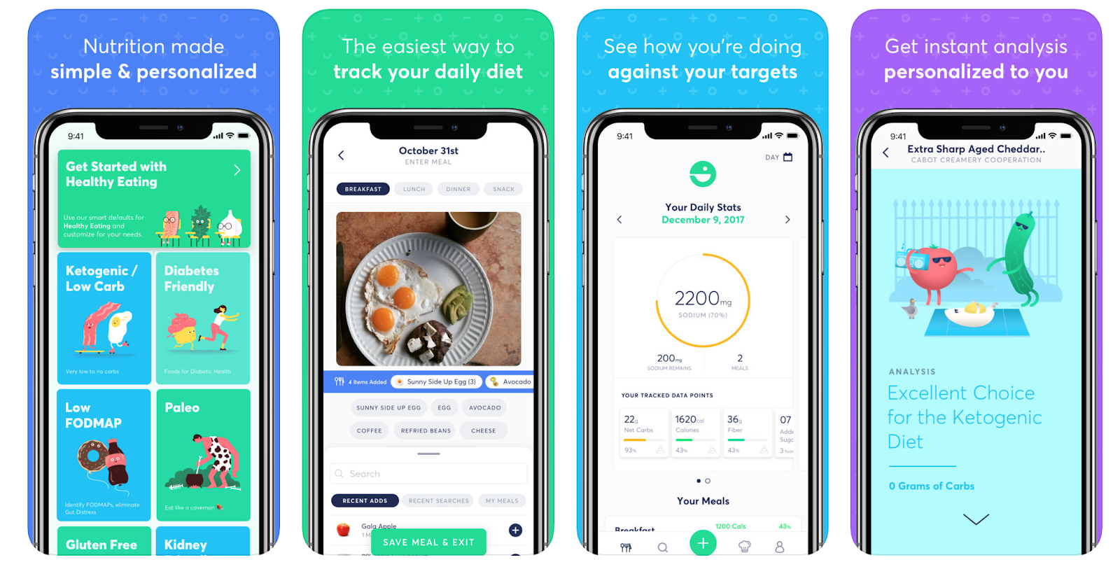 Selective eating apps make a customized diet easier to stick with