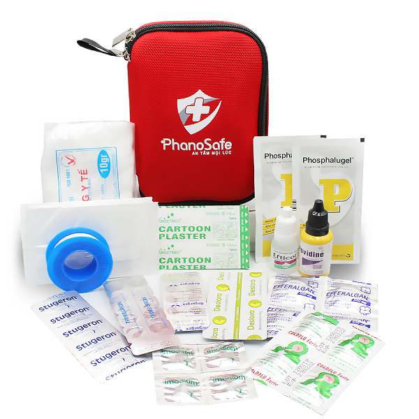 Bộ dụng cụ y tế du lịch PhanoSafe