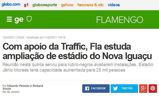 Flamengo não tem estádio, mas quer usar dos outros