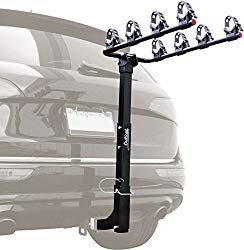 hitch bike rack with ramp