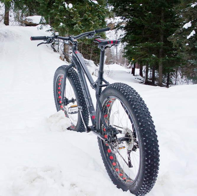 Fat biking at Panorama is an option