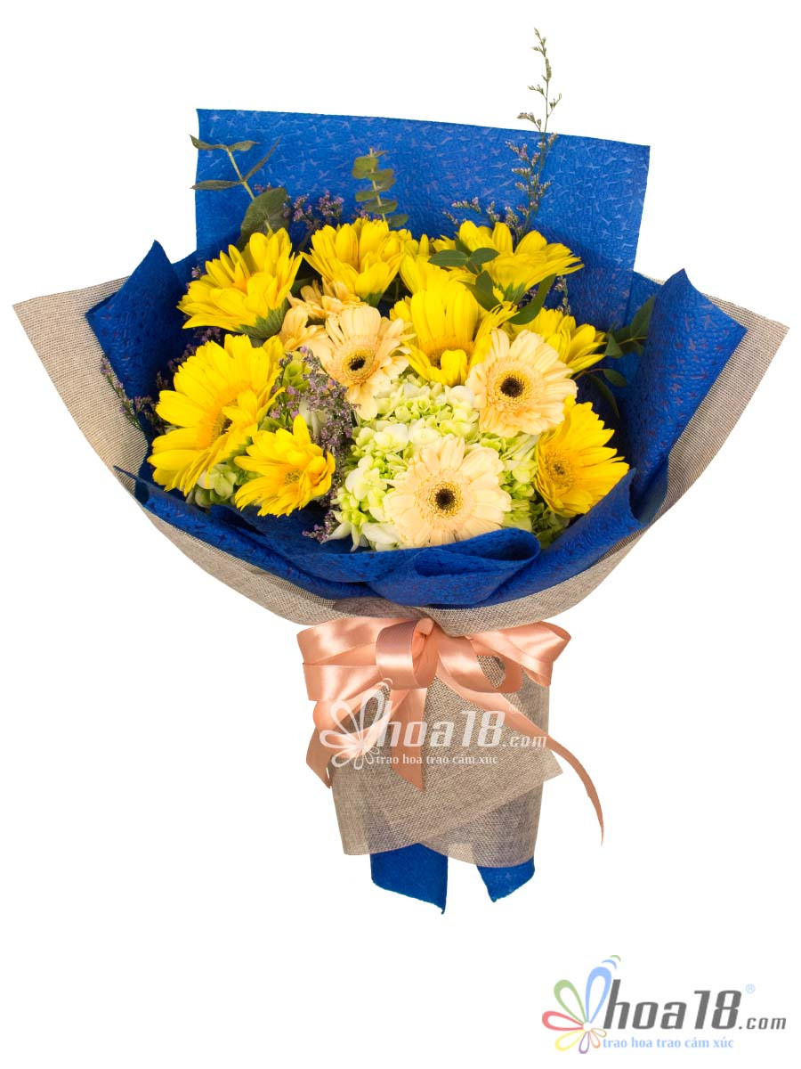 bó hoa tặng mẹ vào ngày 8/3