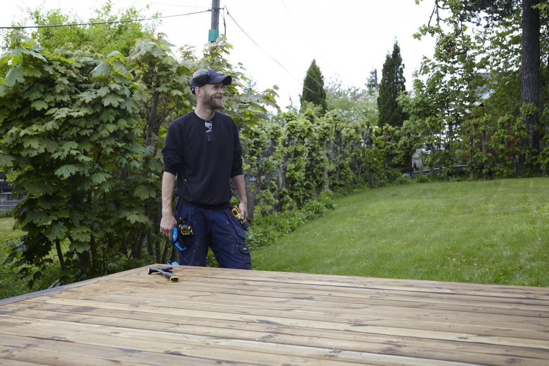 Eine Holzterrasse bauen