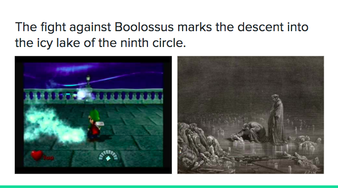 Luigi's Mansion Dante's Inferno - ice