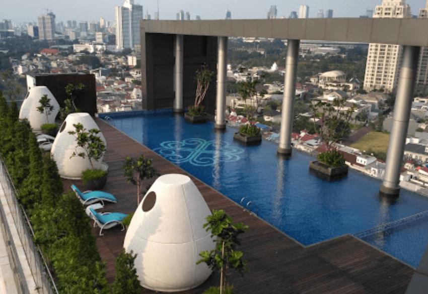 four winds - rent apartment senayan