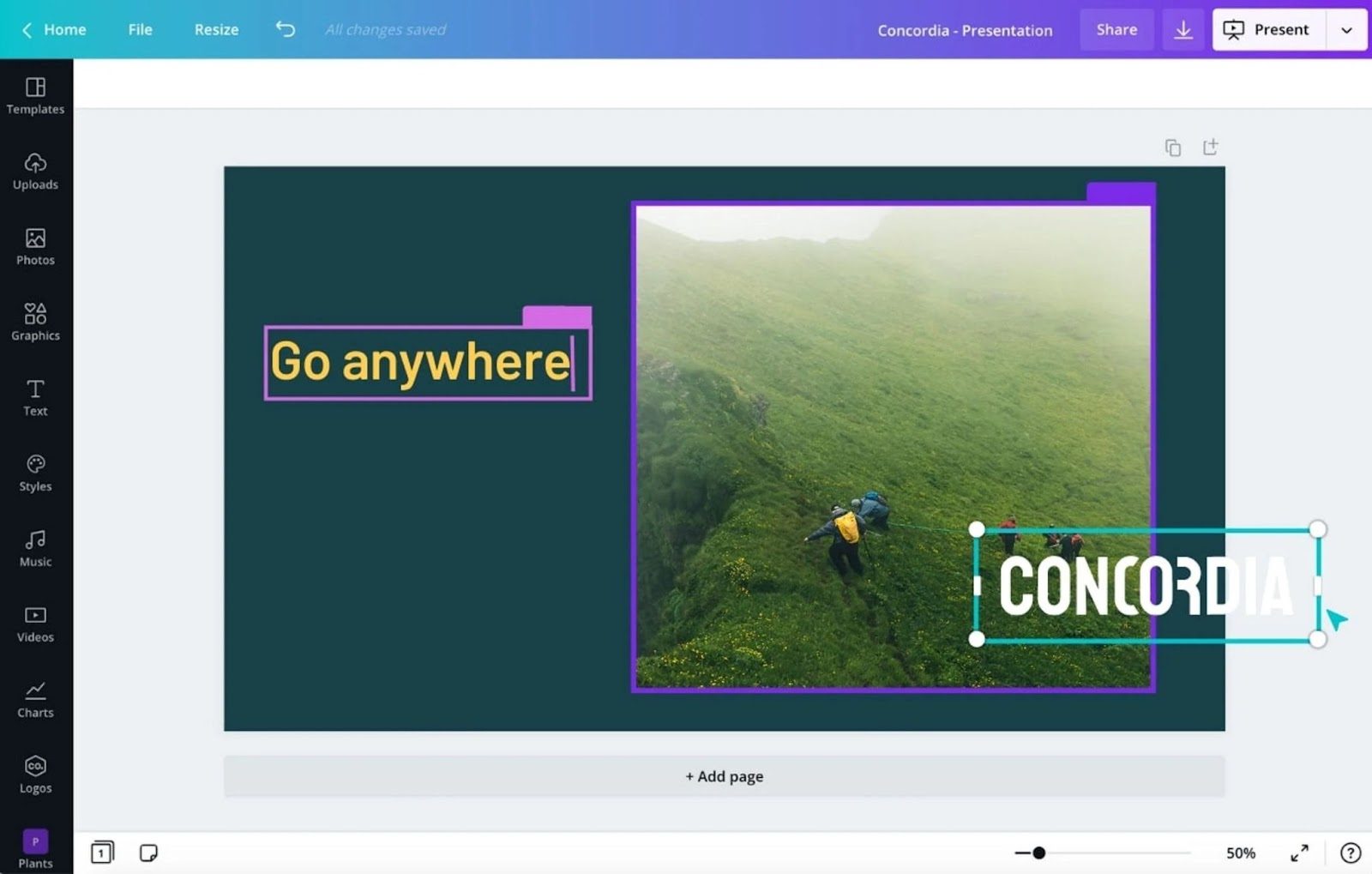 Real-time collaboration in Canva
