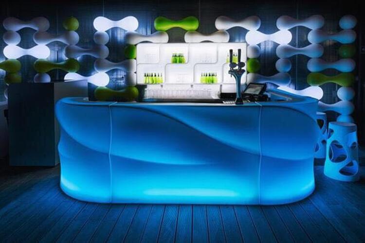 ectangle bar table