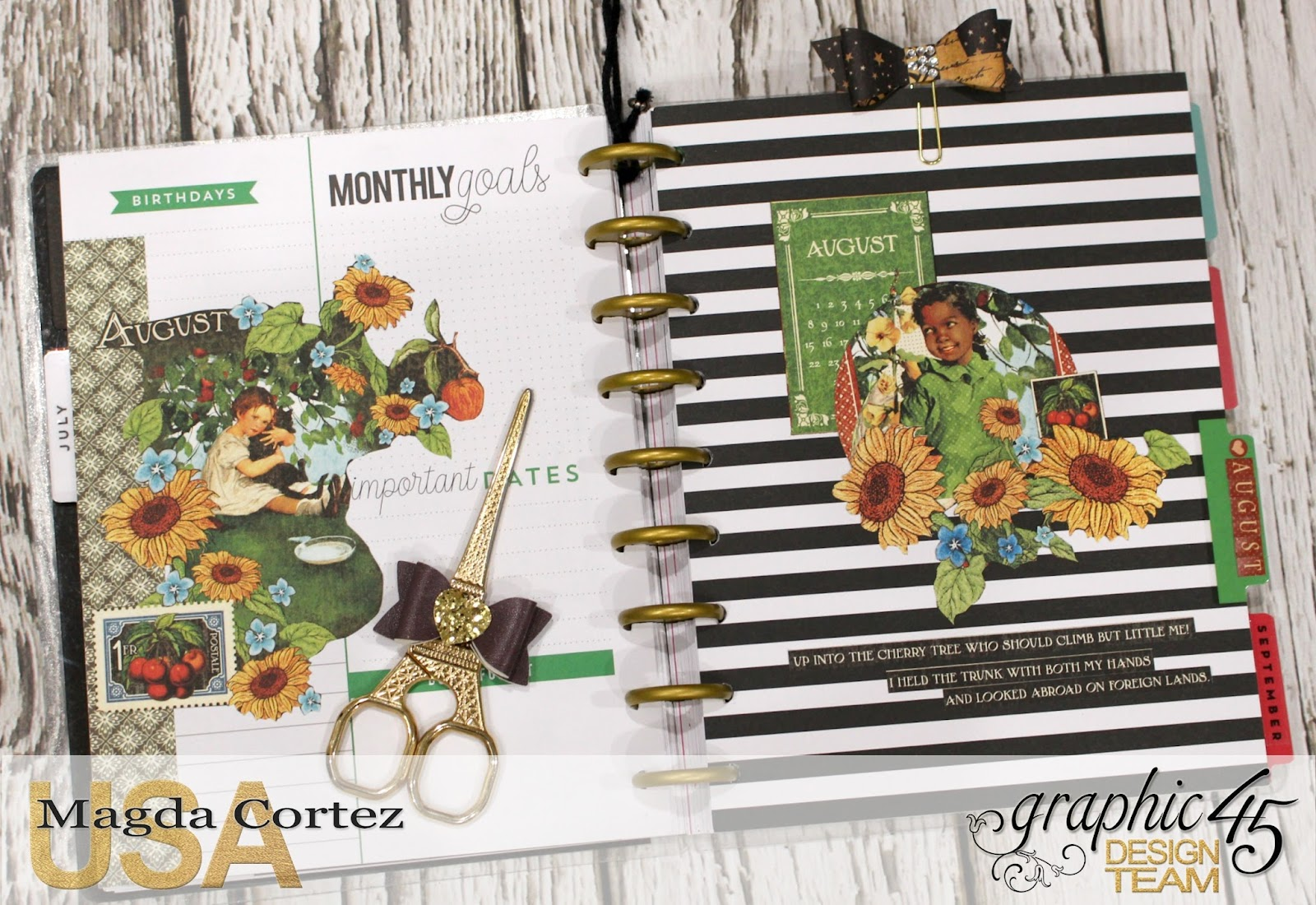 03. My G45 Planner August, Children Hour By Magda Cortez, Product By Graphic 45, Photo 03 of 26.jpg