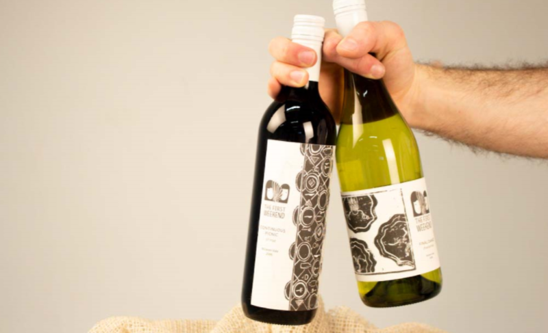 The First Weekend Winery Wine Labels