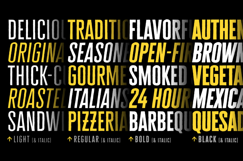 Explore Our List Of Hot Trending Fonts In 2020 - TheHungryJPEG Blog