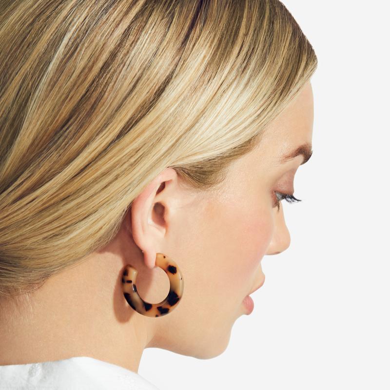 minimalist jewelry - Machete Kate Hoops