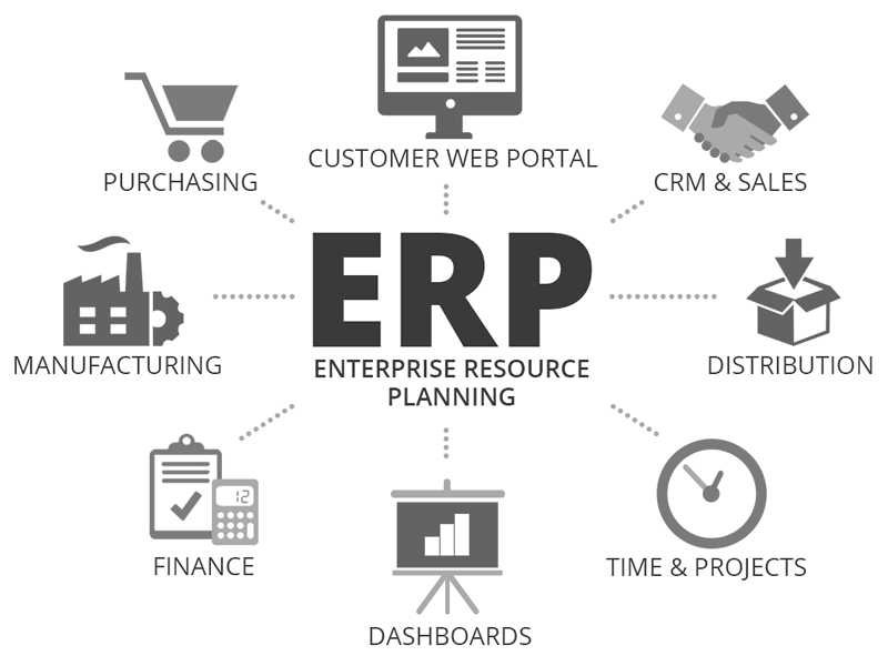 Definition of SAP & ERP software