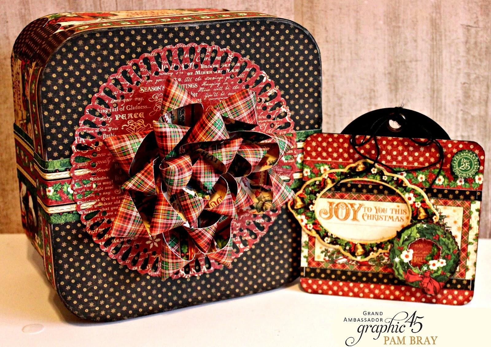Christmas Boxes - Shadow Box \u0026 Gift Box Tutorial