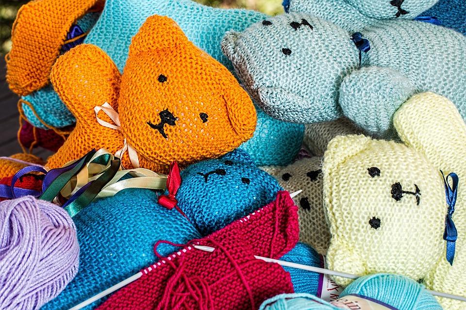 knit bears hobby