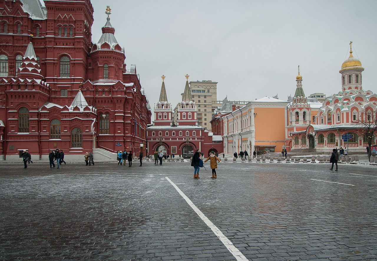 Red Square of Moscow