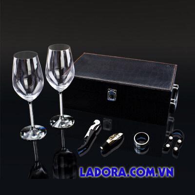 bộ ly rượu vang cao cấp tại shop bán đồ trang trí nhà ở hà nội ladora