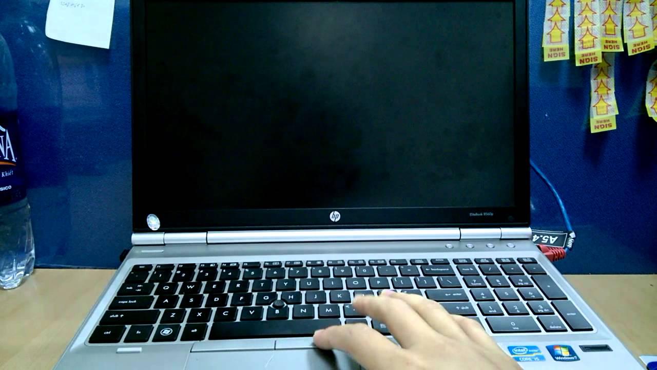 Nguyên nhân và cách khắc phục laptop lỗi màn hình đen