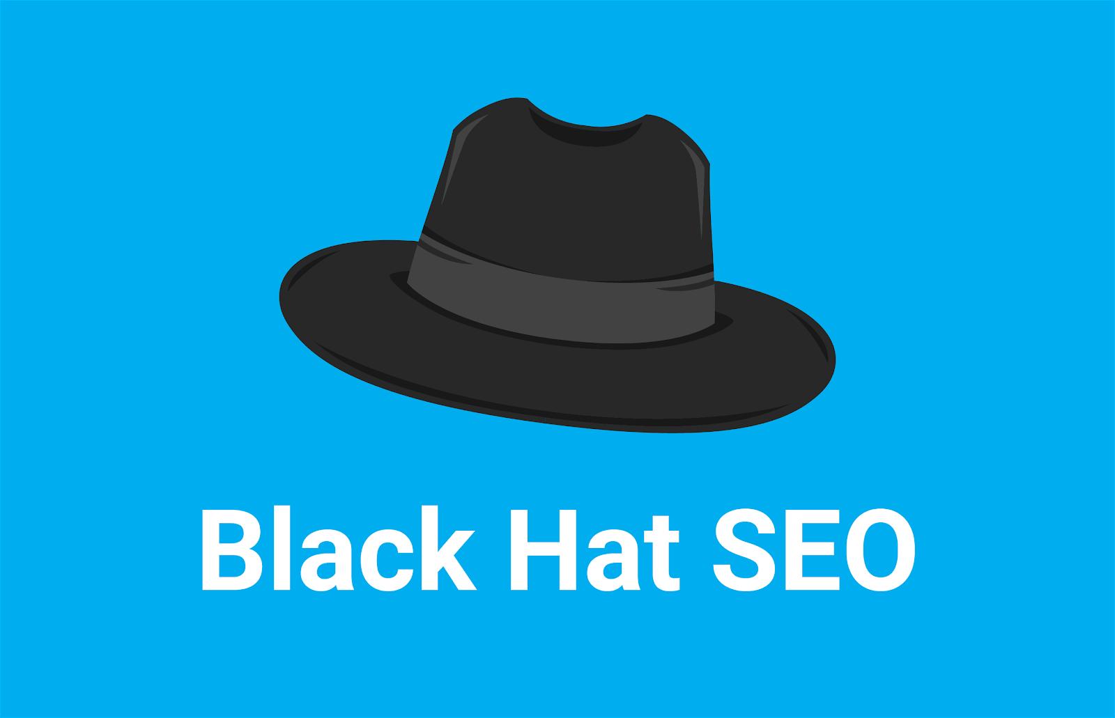 chapeau noir seo