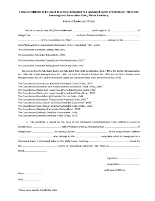 Revised Guidelines for SCST Certificate pdf