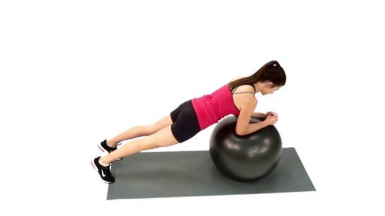 plank đúng cách - plank với bóng