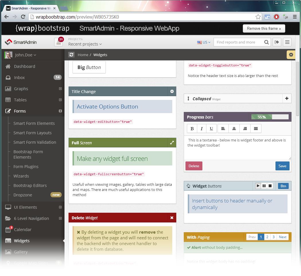 SmartAdmin v1 4 - Responsive WebApp
