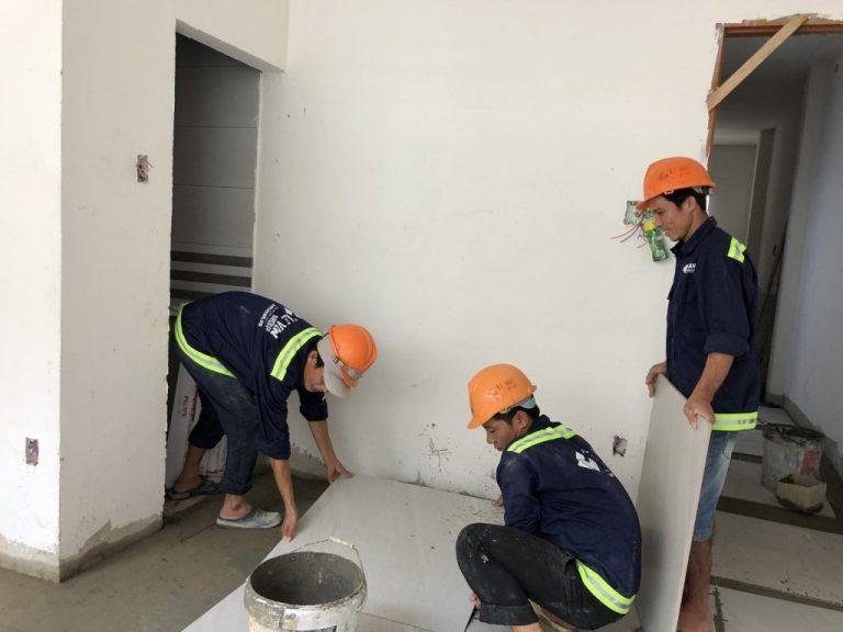 Trường tuyển nhận thi công mọi hạng mục của sửa chữa nhà