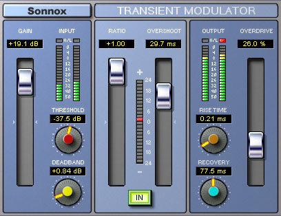 Sonnox Transient Modulator