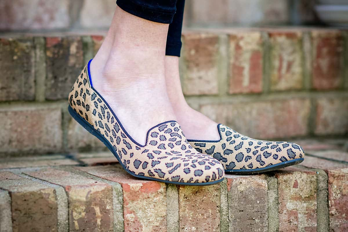 Daily Mom parents portal holiday 2018 Rothys Leopard Loafer 1 new shoes
