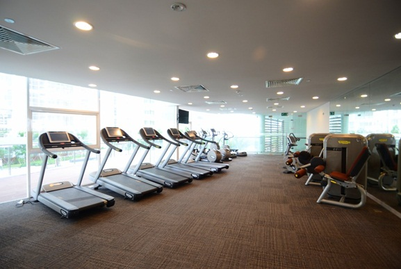 Phòng tập gym dự án The Estella