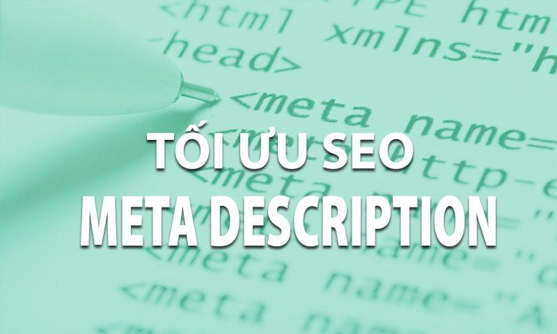 Tối ưu hóa thẻ Meta Description