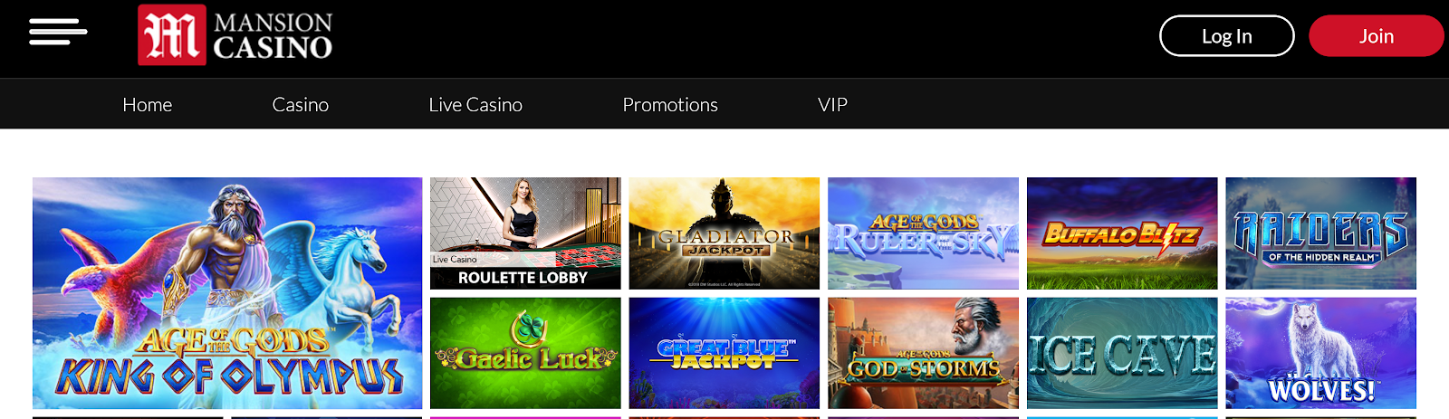 Mansion Casino is a top-rated slot bonus site