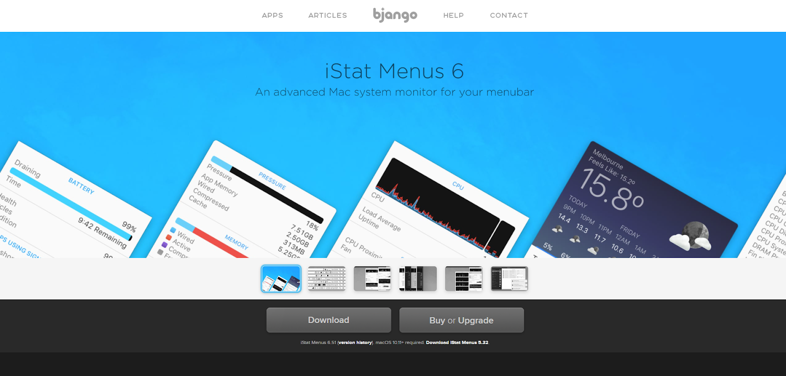 Mac Network Monitoring Software - iStat Menus