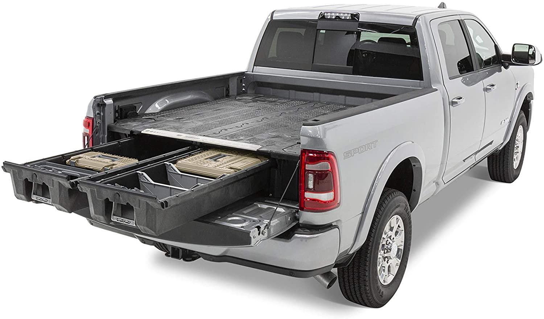 Decked Ram pickup truck