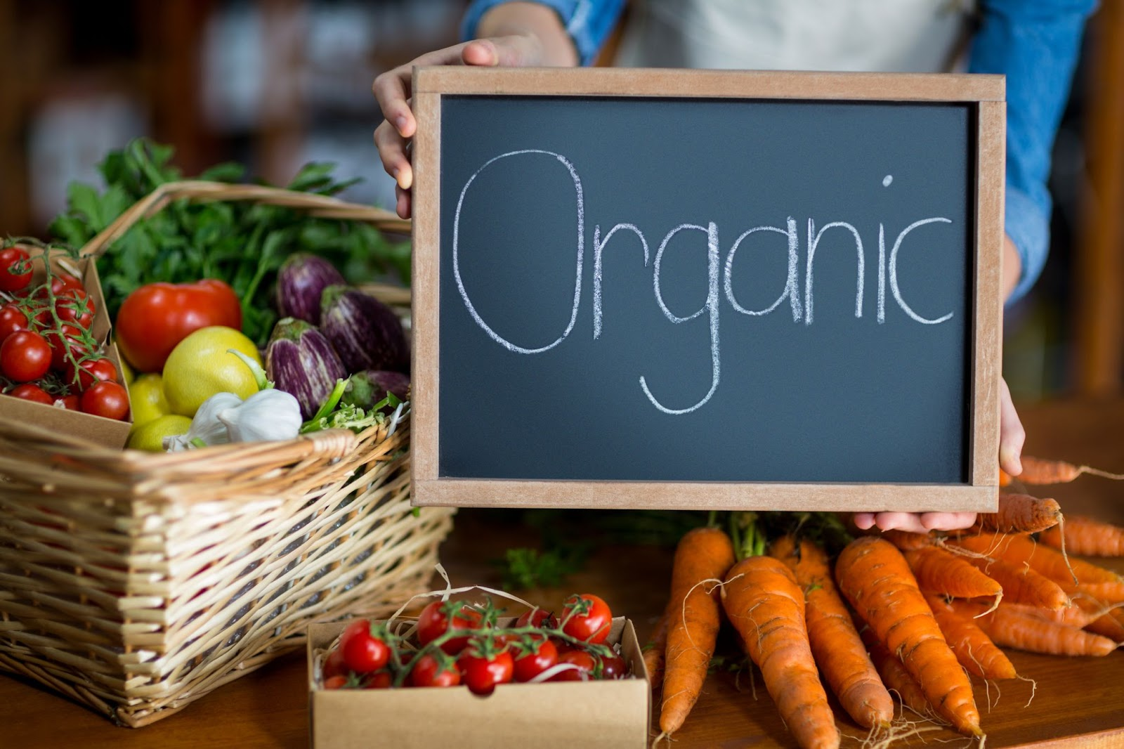 It is wise to switch to organic foods