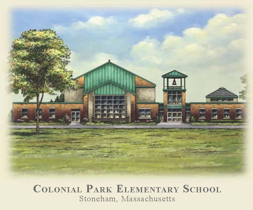Colonial Park Elementary School artist's rendering