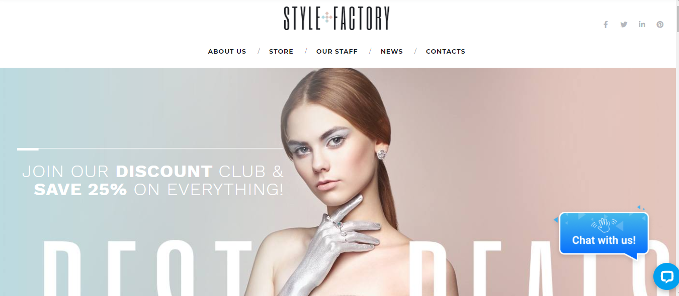 Style Factory - Cosmetic Woocommerce theme
