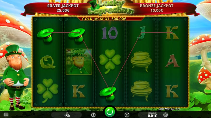 Lucky Leprechaun Slot by Microgaming