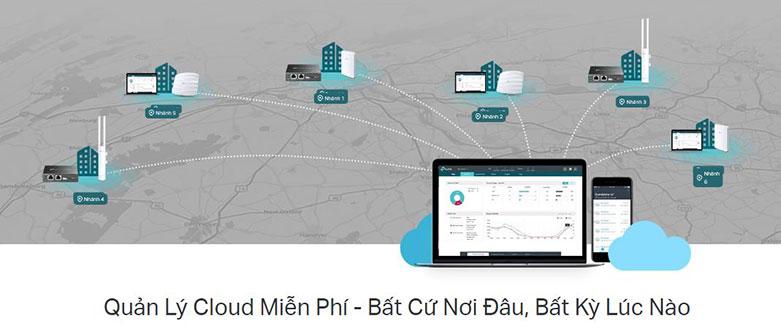 Omada Cloud Controller TP-Link OC200   Quản lý Cloud miễn phí