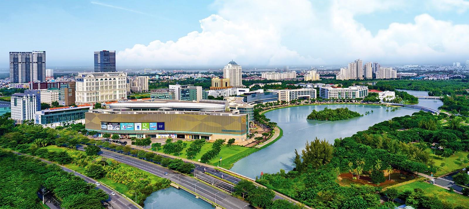 Khu đô thị Phú Mỹ Hưng là bước đầu trong phát triển