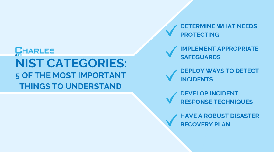 NIST Categories: 5 Important Things to Understand
