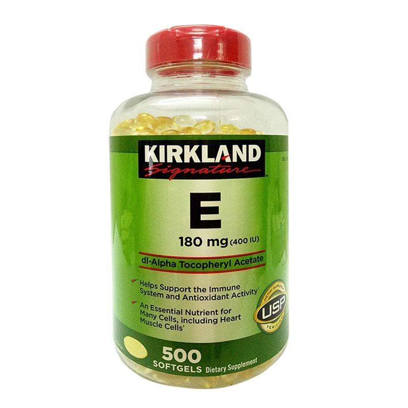 Lựa chọn dòng sản phẩm vitamin e Kirkland sao cho chuyên nghiệp