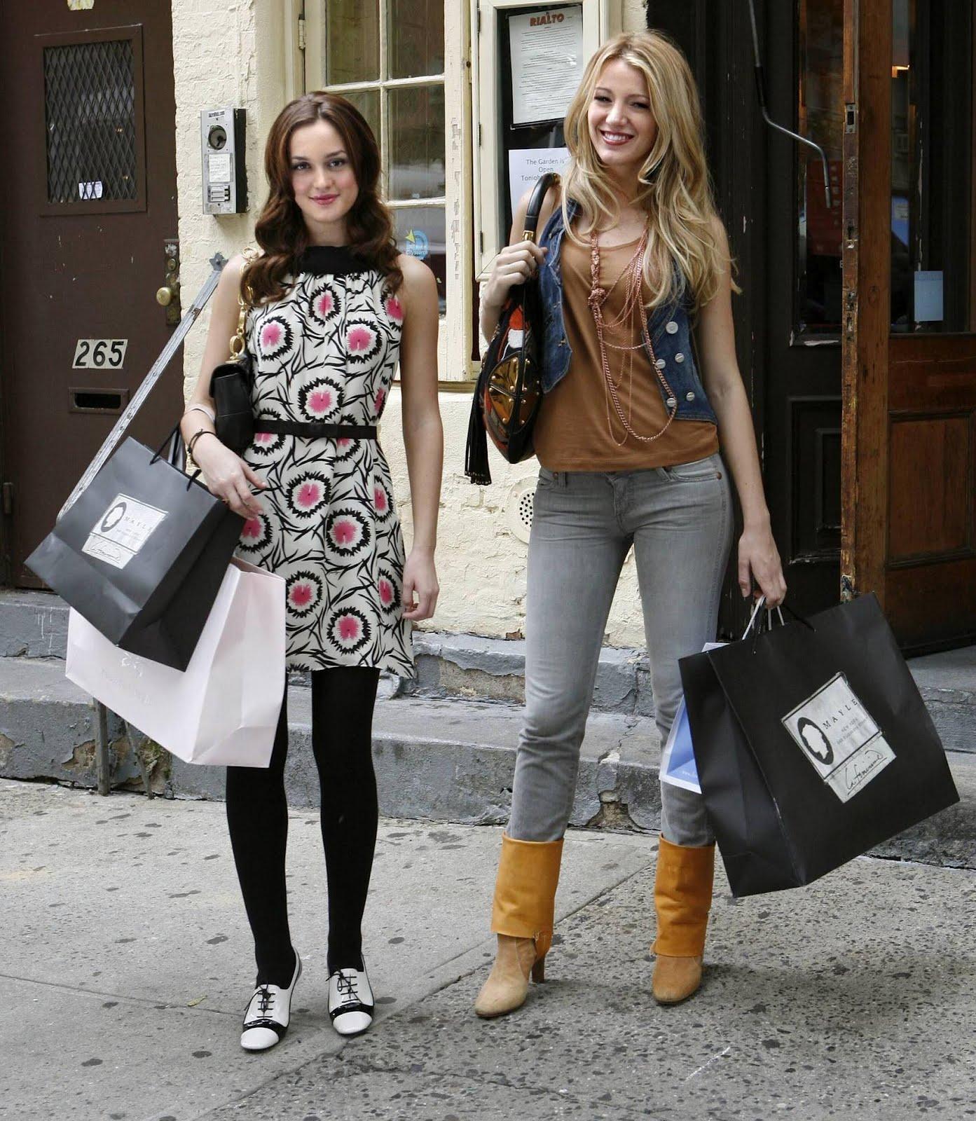 Cinematic Fashion: Gossip Girl