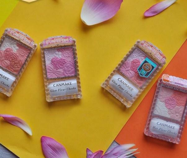 Review các loại phấn má hồng Canmake chuẩn phong cách Nhật nhiều cô nàng ao ước 3