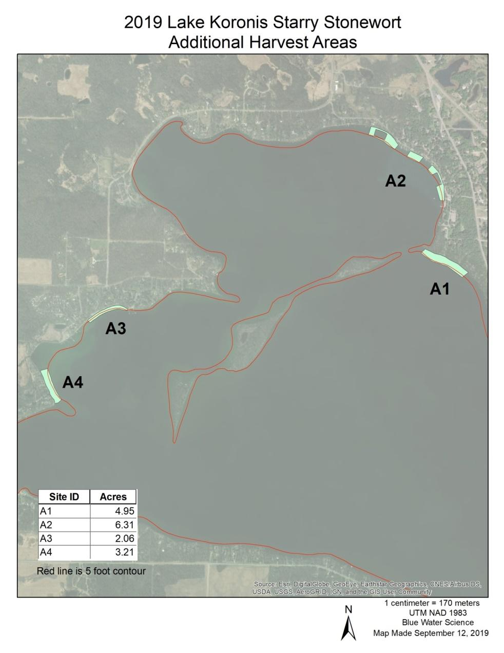 C:\Users\Farnum\AppData\Local\Microsoft\Windows\INetCache\Content.Outlook\BKNFSSZW\2019 Koronis Starry Stonewort Additional Harvest Areas- Full View- A1- A2-A3- A4.jpg