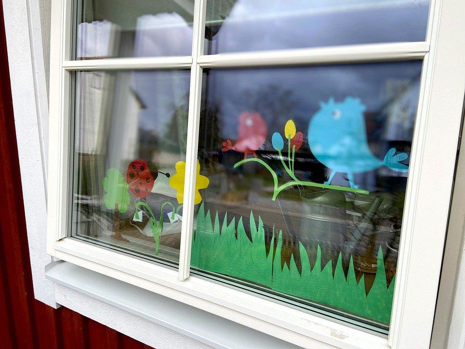House, Window, Easter, Architecture, Building, Live