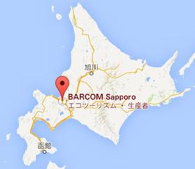 バルコ札幌・地図